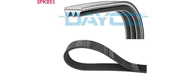 Courroie Dayco 3PK853
